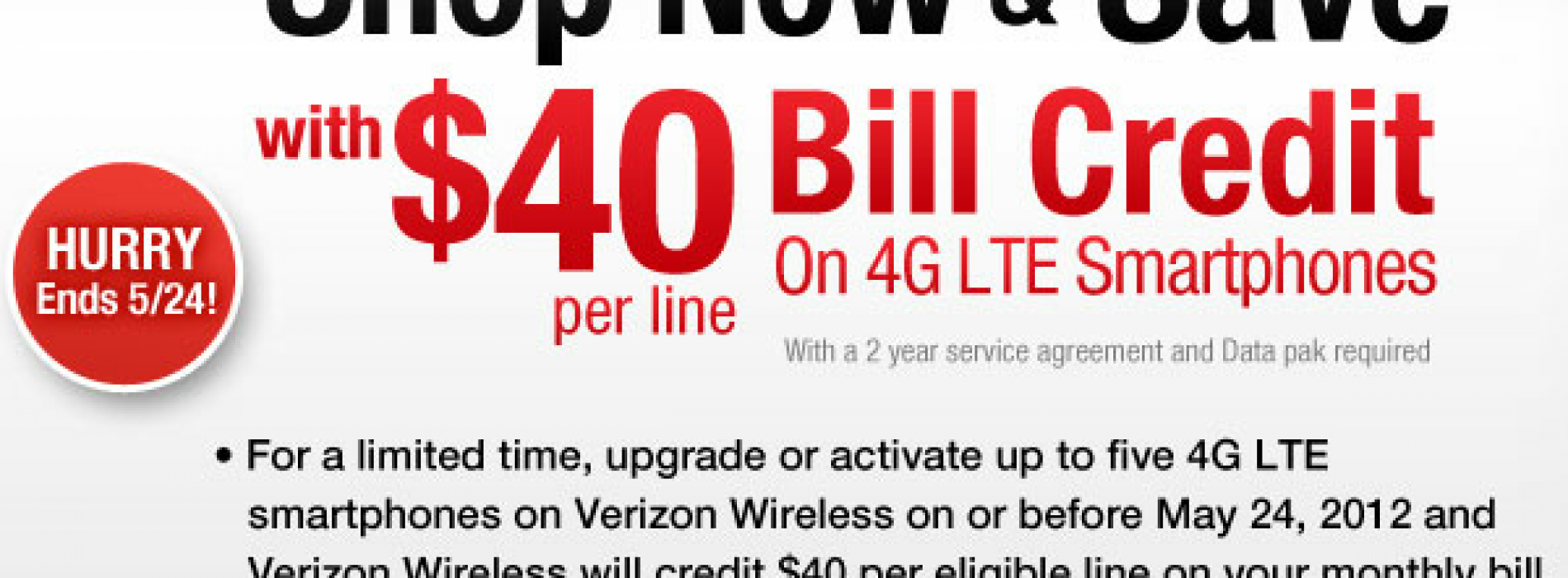 Wirefly offering $40 credit for each Verizon upgrade, activation