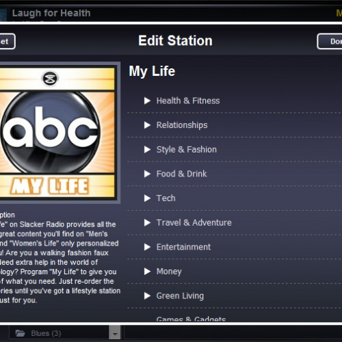 Slacker debuts personalized Lifestyle channels with ABC Radio