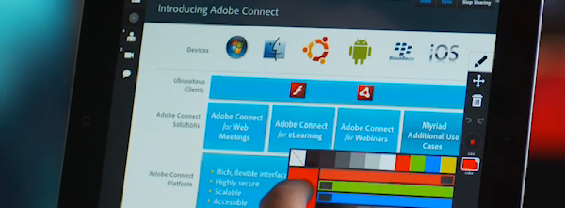 New Adobe Connect experience gives hosting, collaboration power to mobile