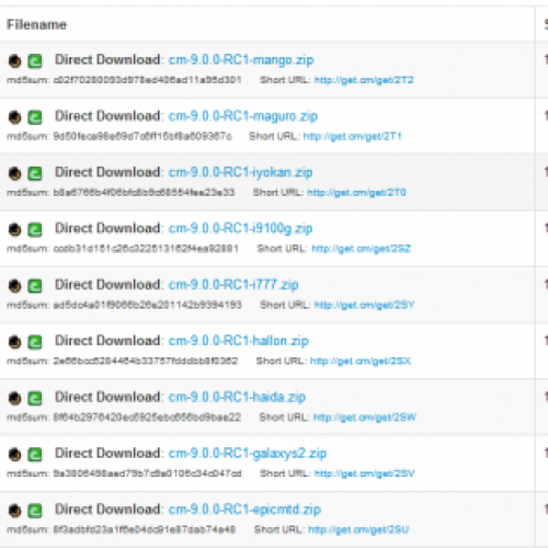 CyanogenMod 9 RC1 now released for dozens of devices