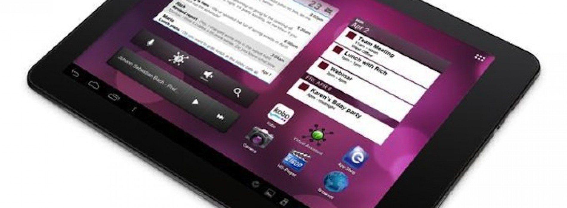 eGlide Pro X tablet announced by Ematic: ICS tablet for just $219