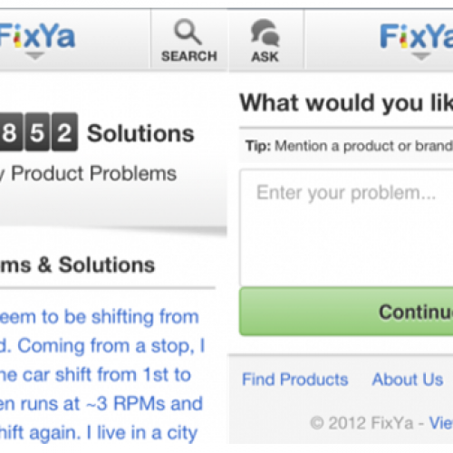 FixYa debuts slick HTML5-based product support site