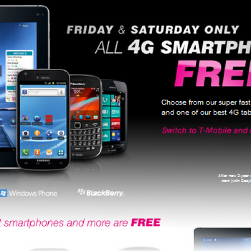 T-Mobile Father's Day sale features free 4G Android devices