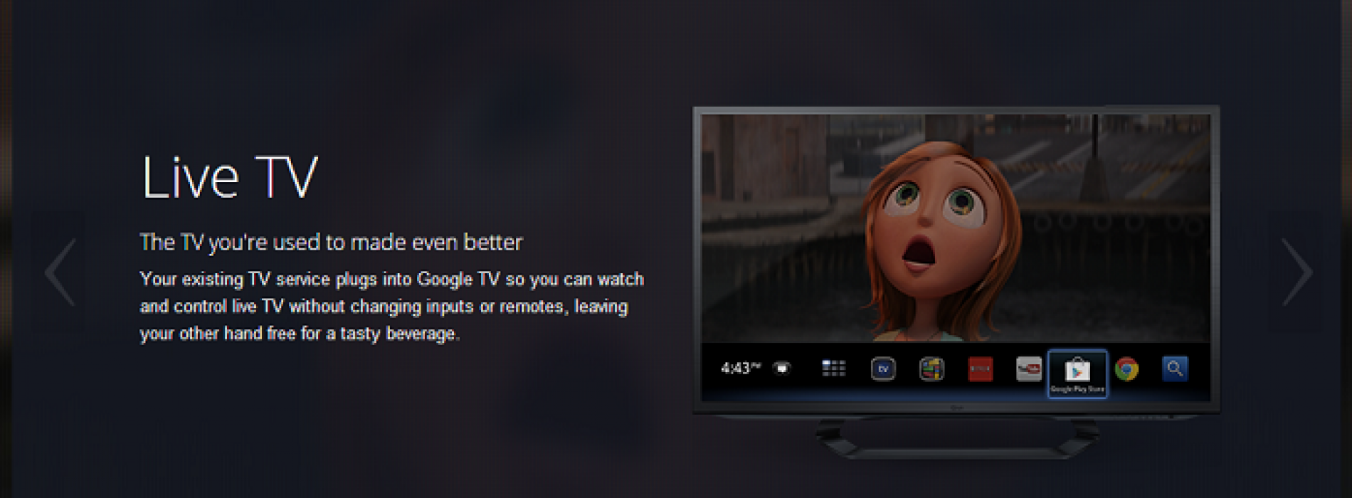 Google TV site gets revamped, Google I/O will probably see some GTV love
