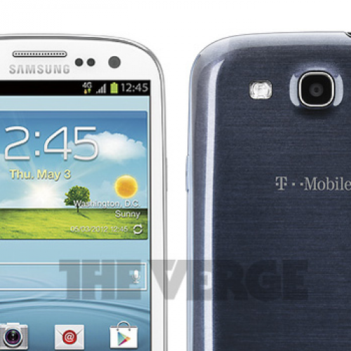 T-Mobile version of Galaxy S III has identical form factor as global edition