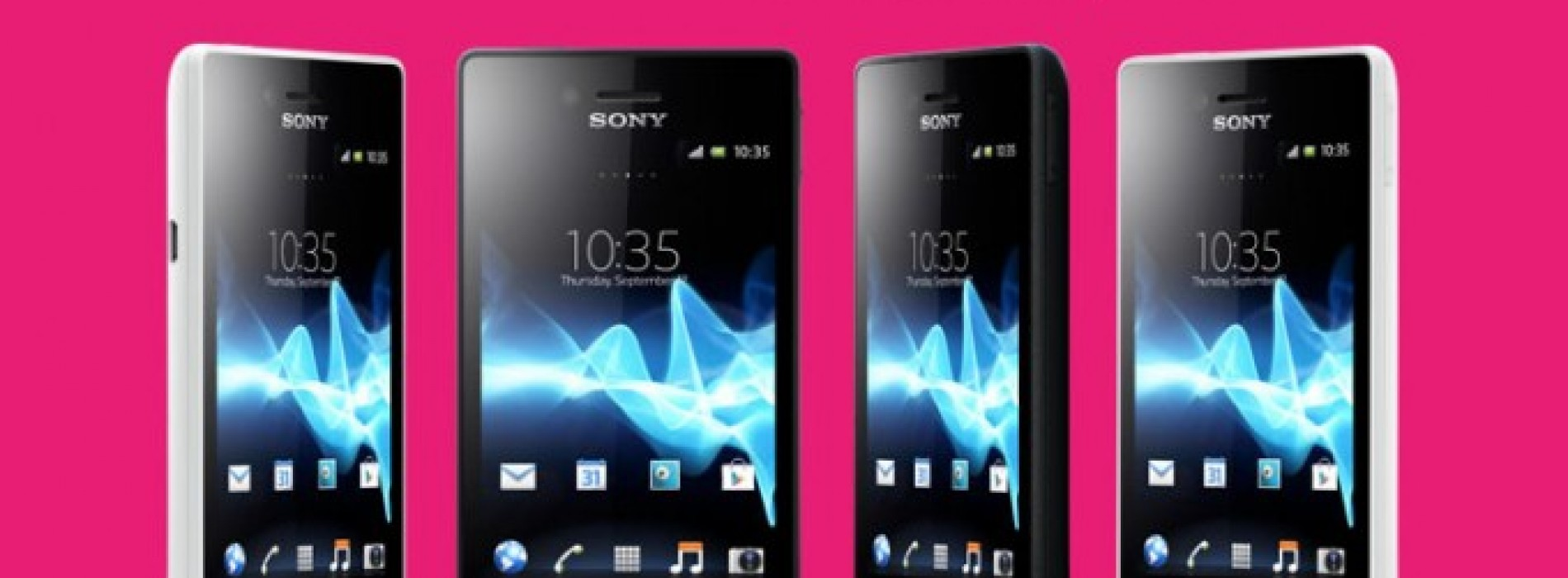 New Xperia Miro announced by Sony