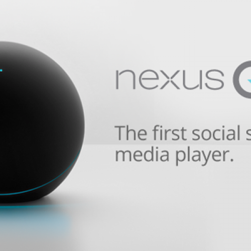 Google takes on home media with Nexus Q