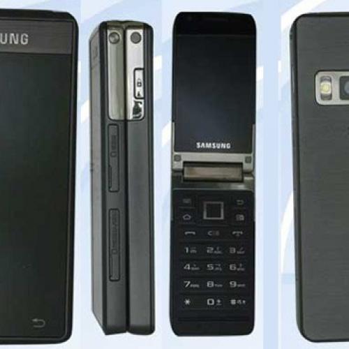 Samsung's GT-B9120, a Gingerbread-powered flip phone
