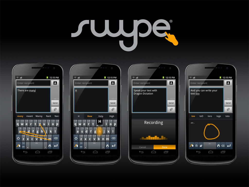 Nuance debuts next-gen Swype keyboard for Android | AndroidGuys