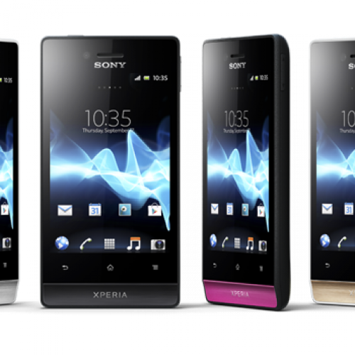 Full details for Sony's new Xperia Miro, Xperia tipo
