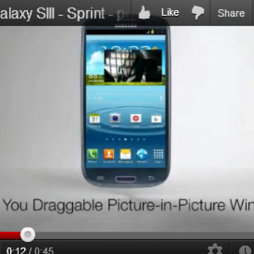 Sprint Galaxy S III training videos leak well ahead of device launch