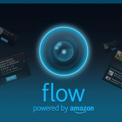 Amazon's Flow blends barcode scanning, QR codes, and augmented reality shopping