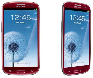 Garnet Red Att Samsung Galaxy S Iii1