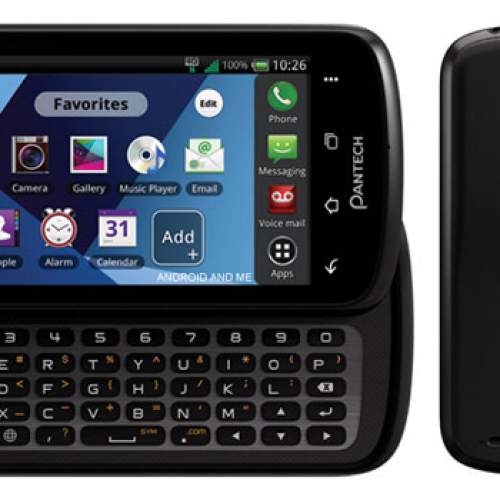 Images and details for Verizon's Pantech Star Q surface