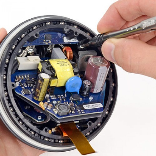 Nexus Q gets torn down, some parts are in fact imported