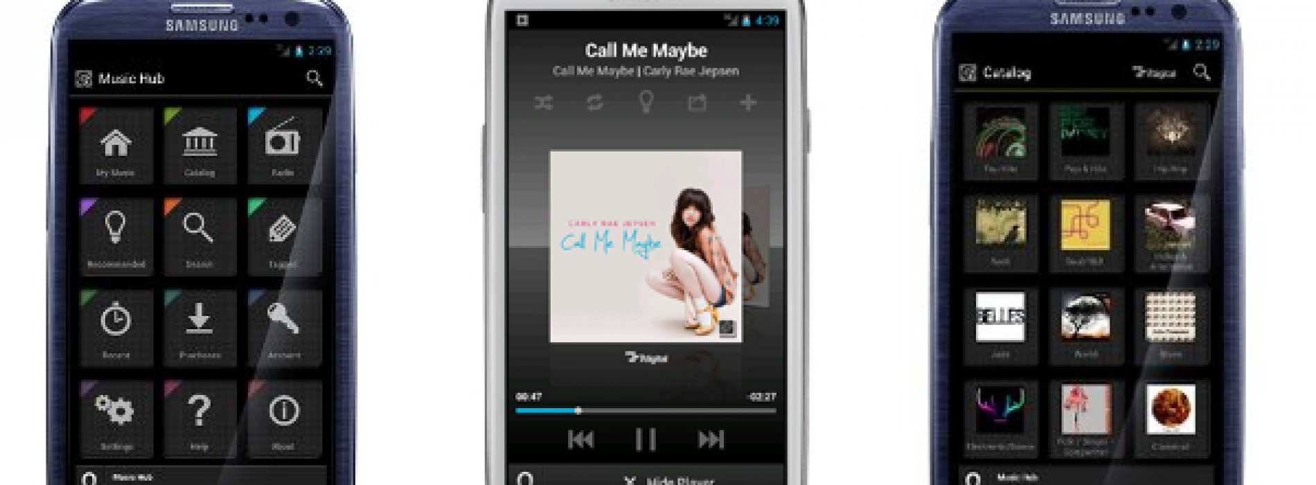 Samsung brings Music Hub to U.S. with Galaxy S III