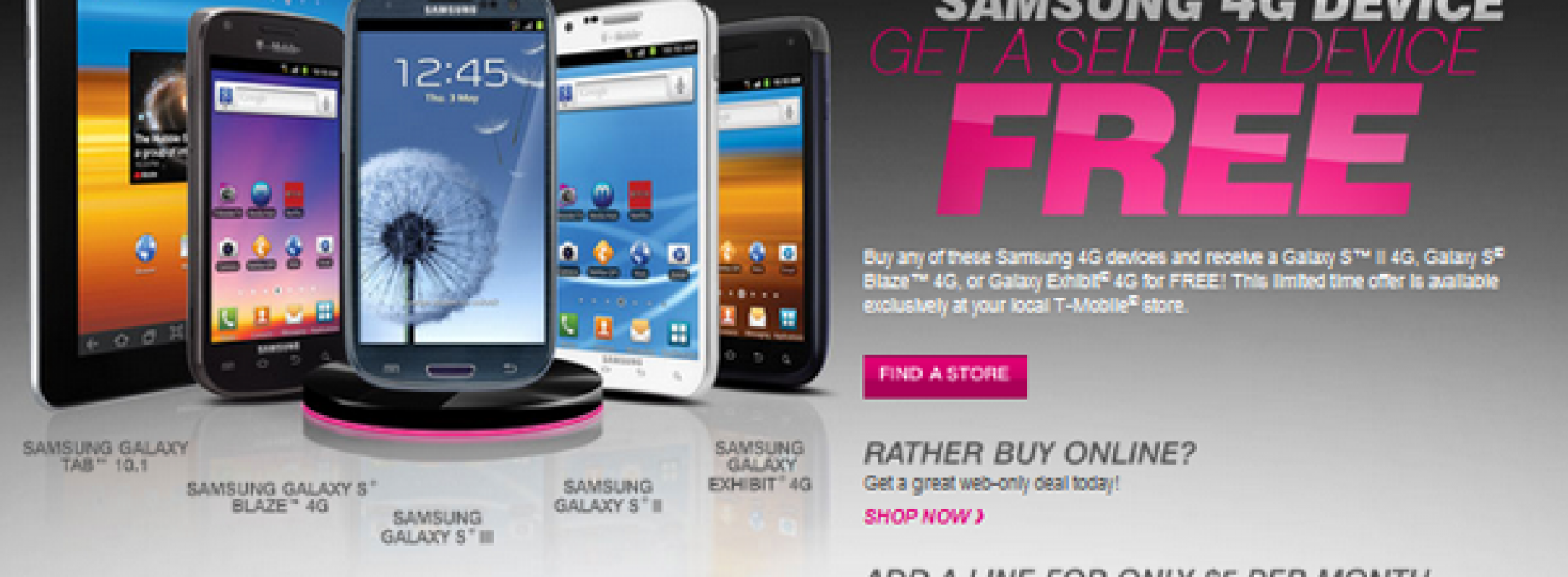 T-Mobile Back-to-School promos include BOGO Samsung smartphones (UPDATE)