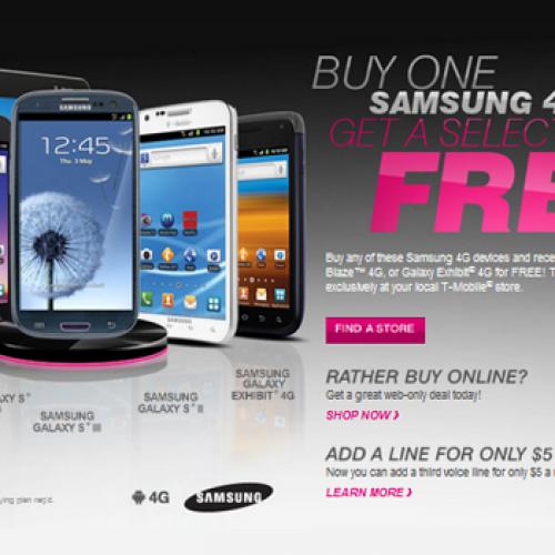 T-Mobile Back-to-School promos include BOGO Samsung smartphones (UPDATE)