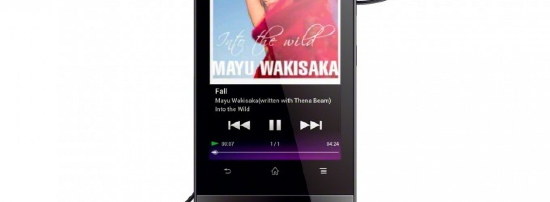 Sony announces new Walkman running Android
