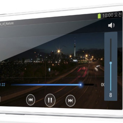 5.8-inch Samsung Galaxy Player gets official