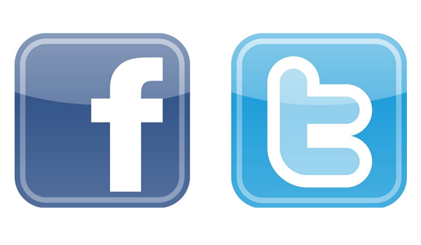 Facebook Twitter Logos Feature