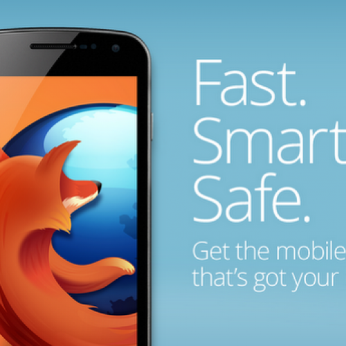 Firefox 29 beta allows to install web apps as native Android apps