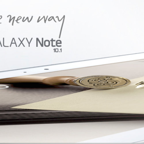 Samsung Galaxy Note 10.1 arrives August 16