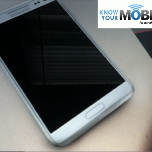 Seemingly legitimate Galaxy Note II