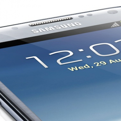 Galaxy Note III rumored with 6.3-inch display