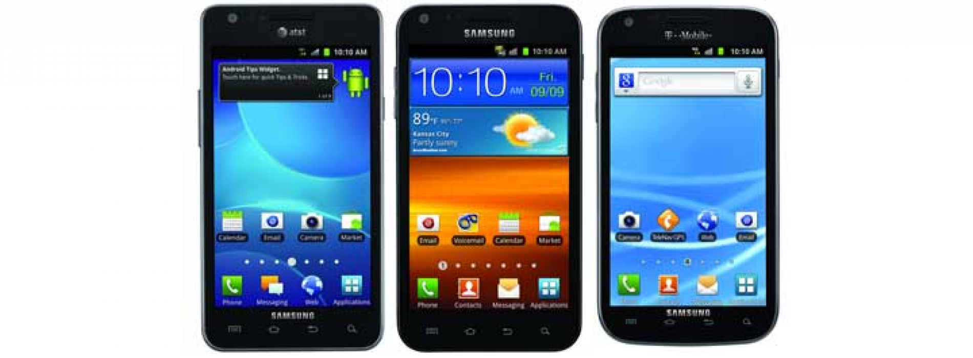 This Day in Android: Galaxy S II announced for three U.S. carriers
