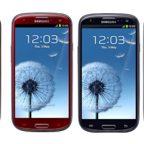 Samsung Galaxy S III gets four new color options