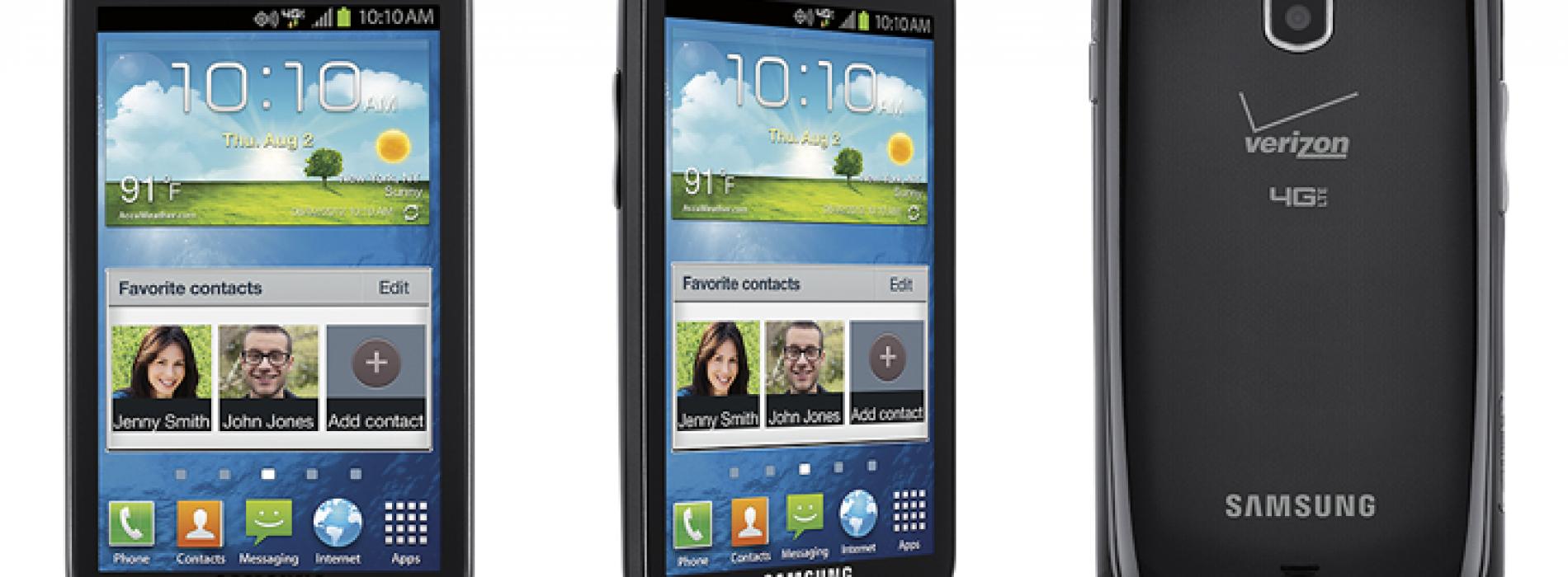 Verizon intros Samsung Galaxy Stellar