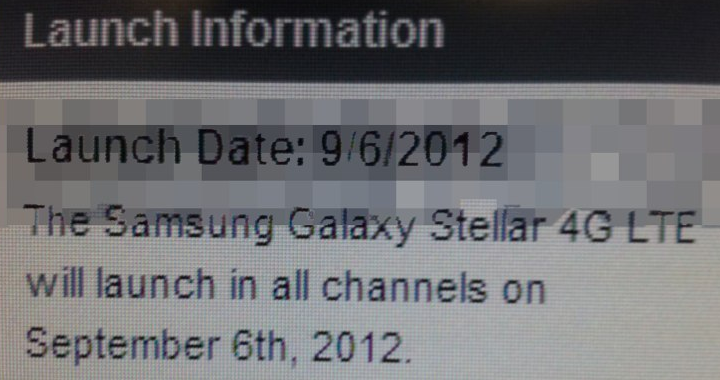 Galaxy Stellar Launch 720w