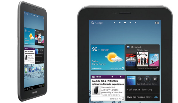 Galaxy Tab 2 7 Feature