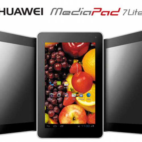 Huawei intros 'fashion forward' MediaPad 7 Lite
