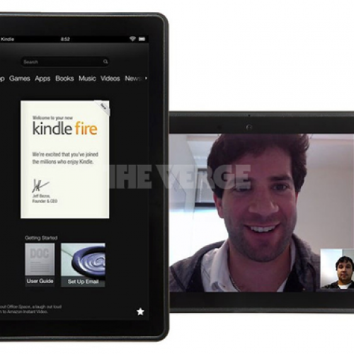 New images of Kindle Fire successor show Skype support