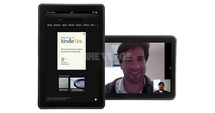 Kindle Fire W Skype 720w