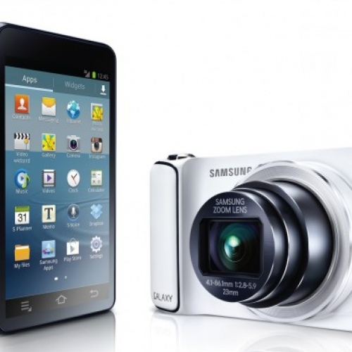 Samsung debuts Android 4.1-powered Galaxy Camera