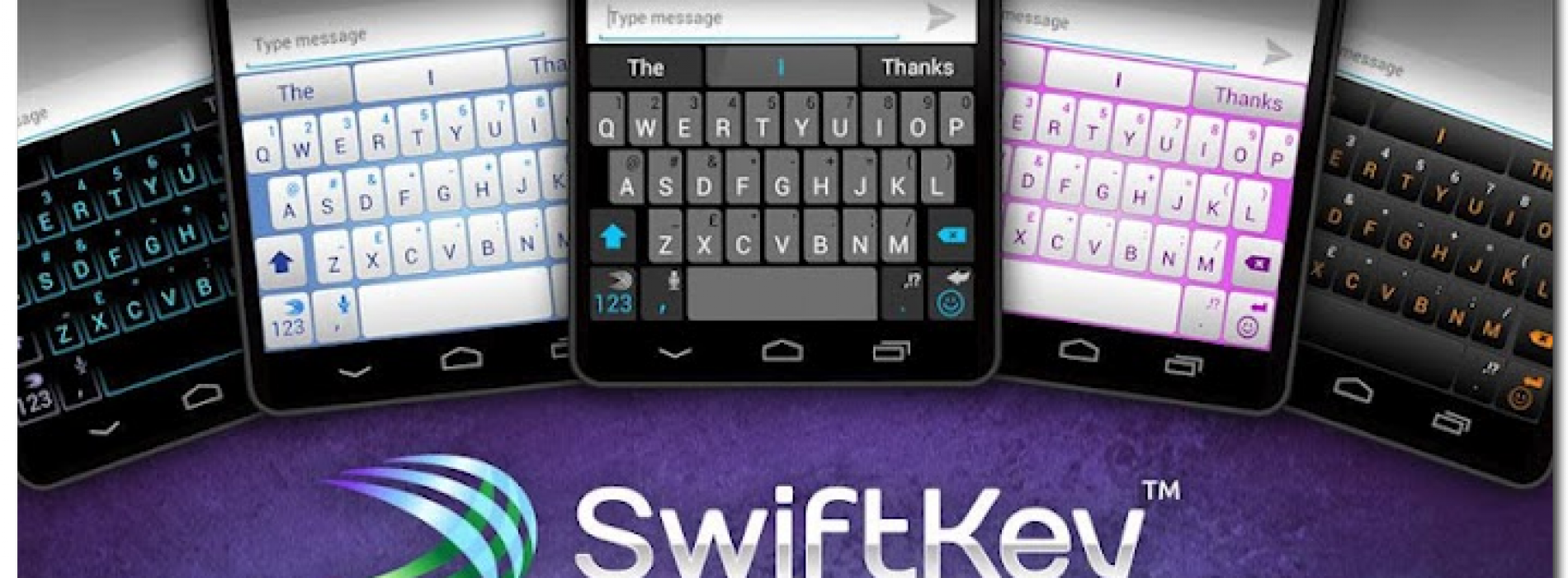 Swiftkey update includes summer themes and continuous voice typing