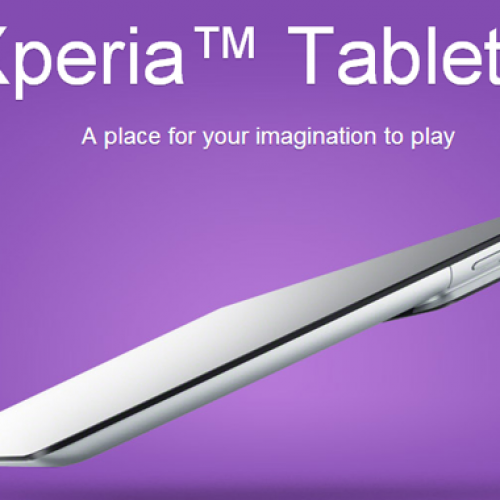Sony introduces Xperia Tablet S