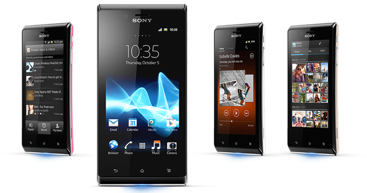 Xperia J 720w