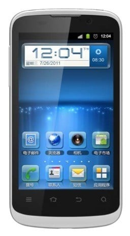 Zte Blade Iii Front1