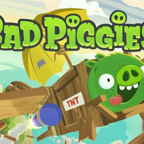 Rovio provides first gameplay footage of Bad Piggies