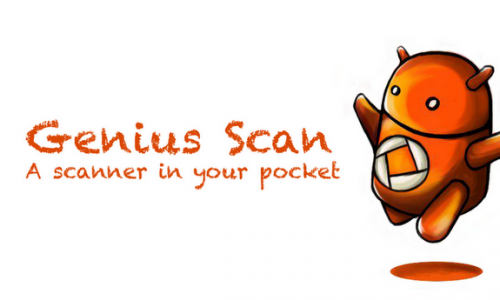 Scan and create PDF documents on the fly with Genius Scan