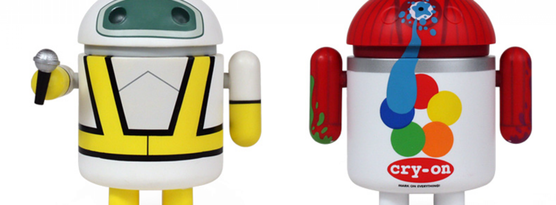Dyzplastic previews Intergalactic and Cry-On collectible figures