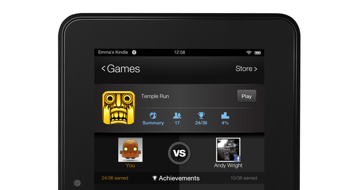 Kindle Fire Gamecircle