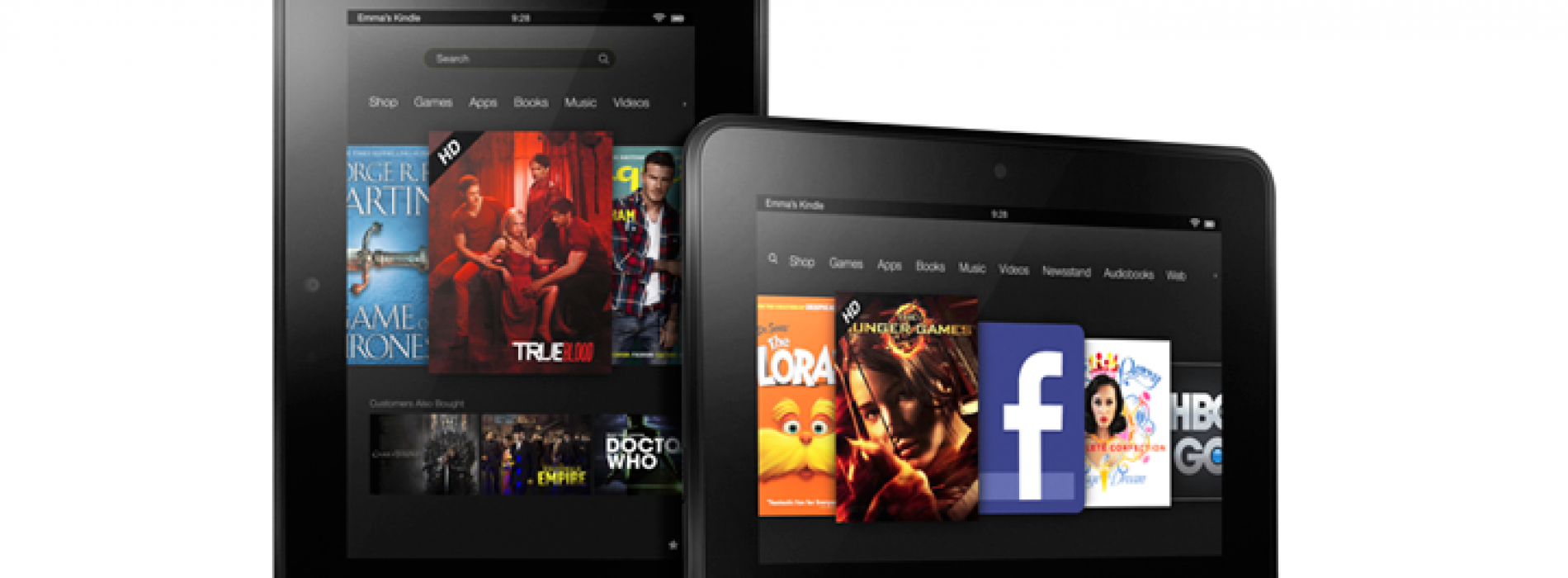 Amazon announces Kindle Fire HD family