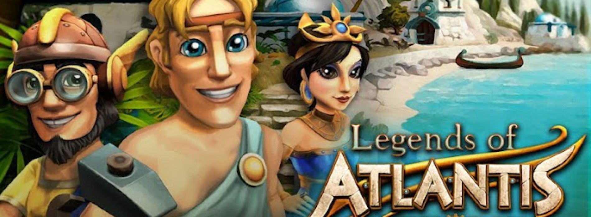 Get your puzzle and time management fix with Legends of Atlantis: Exodus