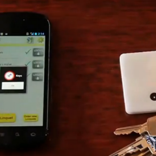 Keep a close eye on your phone, wallet, and keys with Linquet