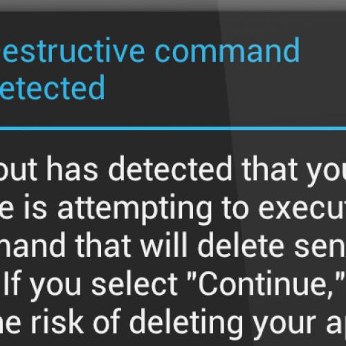 Lookout updates security app in wake of Galaxy S III dialer scare